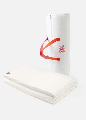 Hypoallergenic Cot Mattress Topper With Cover 140x70cm