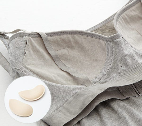 Singlet with Built-in Bra