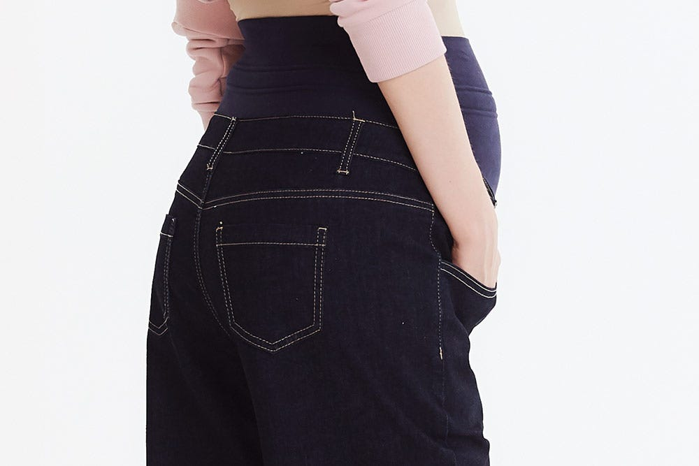 Culotte Maternity Jeans