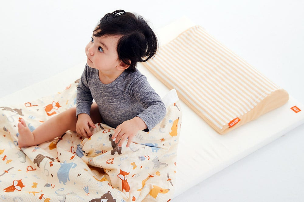 Hypoallergenic Cot Mattress Topper With Cover