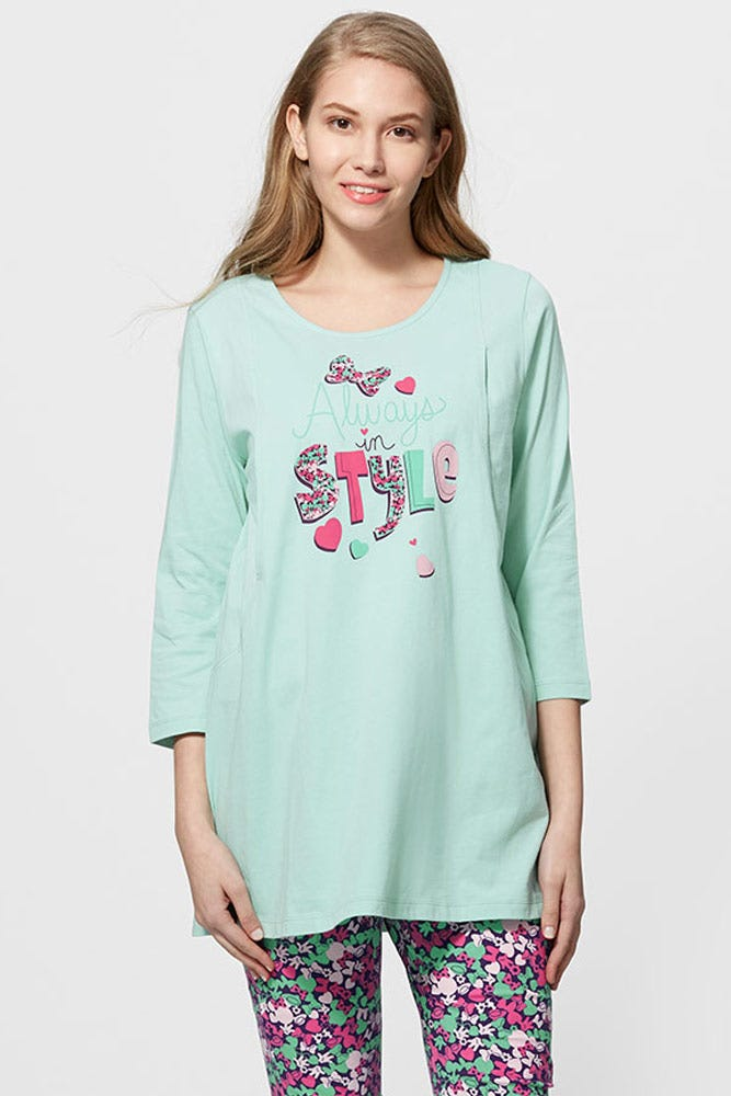 Minnie Maternity & Nursing Pyjama Set